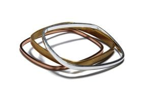 Bing Bang  Bing Bang Square Bangles Set of 3
