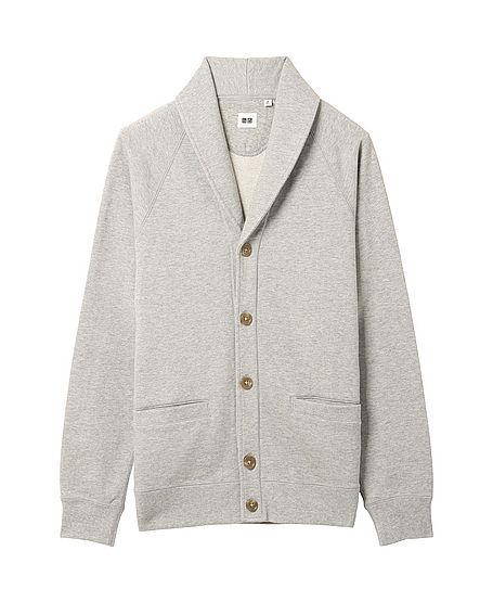 Uniqlo Sweat Shawl Collar Cardigan