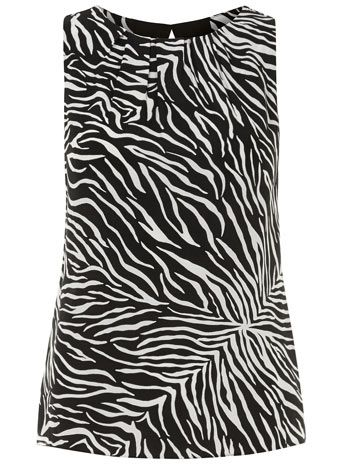 Dorothy Perkins  Zebra Shell Top