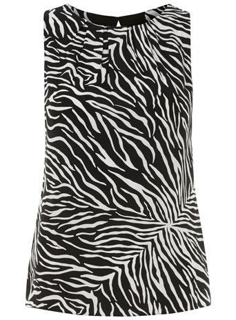 Dorothy Perkins  Zebra Shell Top
