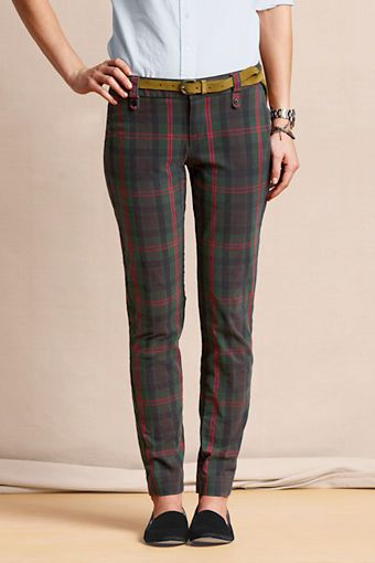 Lands' End  True Slim Caroler Pants