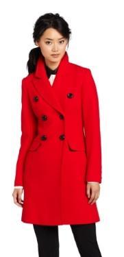 Trina Turk  Soho Classic Reefer Coat