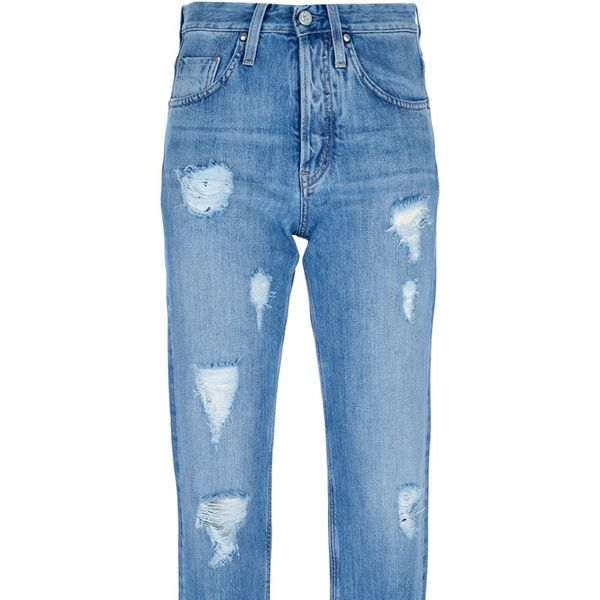 MiH Jeans  Halsy Mid-Rise Cropped Jeans