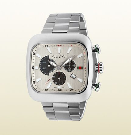 Gucci  Coupé Watch Extra Large Stainless Steel Case