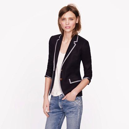 J.Crew  Collection Schoolboy Blazer