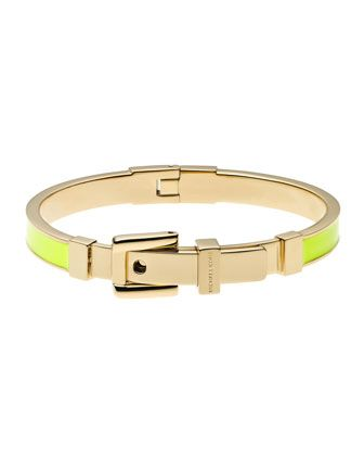 Michael Kors Buckle Enamel Bracelet