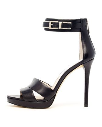 Michael Kors Karlie Back-Zip Sandals