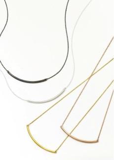 Sarah Chloe  Sarah Chloe Curve Necklace
