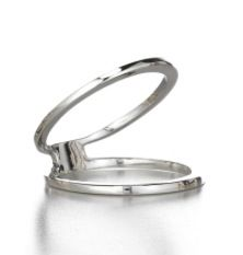 Sarah Chloe Sarah Chloe Geo Parallel Ring