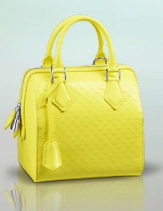 Louis Vuitton Louis Vuitton Damier Facette Speedy Cube PM Bag