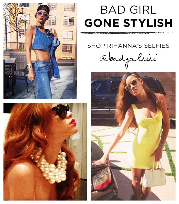 Shop Rihanna's Most Fashionable Instagram Selfies