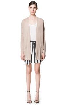 Zara  Jacket with Side Zips