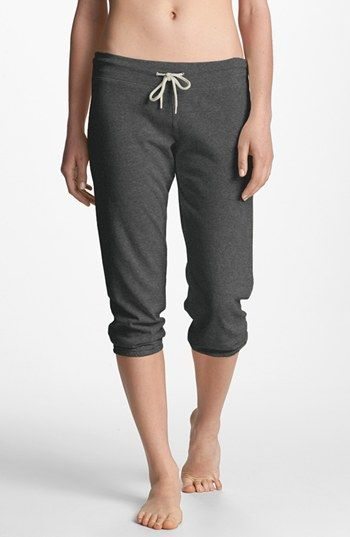 Monrow Vintage Heather Fleece Sweatpants