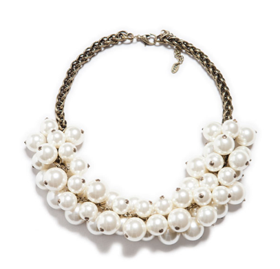 Zara Maxi Pearl Necklace
