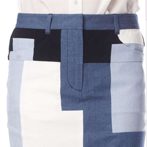 3.1 Phillip Lim Patchwork Skirt
