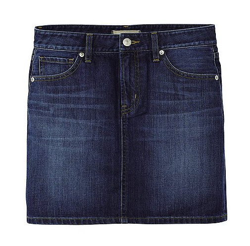 Uniqlo Denim Mini Skirt