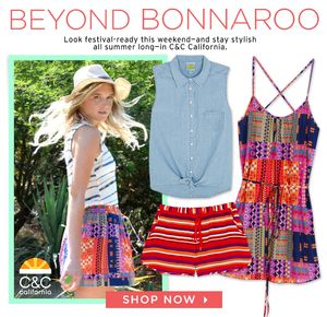 Take Your Cute Festival Outfits Beyond Bonnaroo
