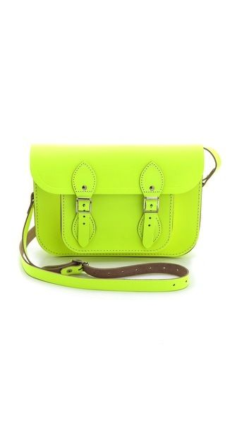 Cambridge Satchel  Fluoro Satchel
