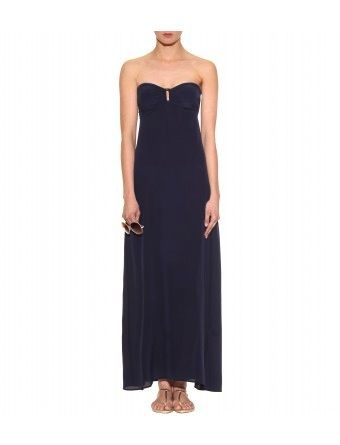Heidi Klein  Strapless Silk Maxi Dress