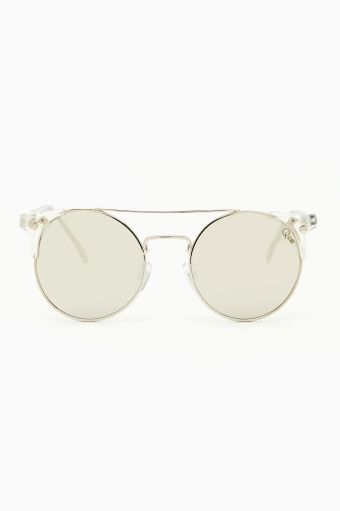 Nasty Gal Clear Reflection Shades