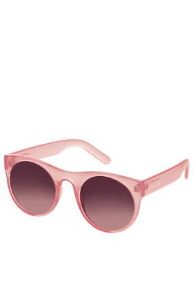 Topshop Drop Lens Round Sunglasses