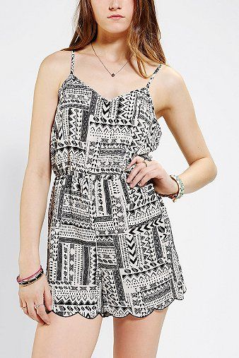 Staring At Stars  Arrow Romper