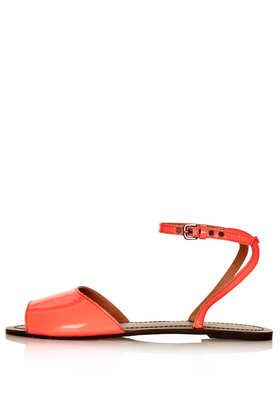 Topshop  Holiday Clean 2 Part Sandals