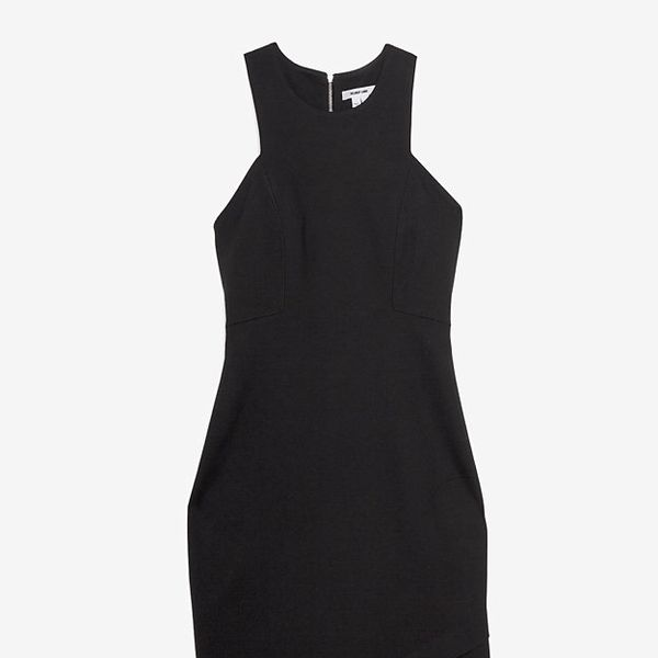 Helmut Lang  Asymmetric Hem Dress