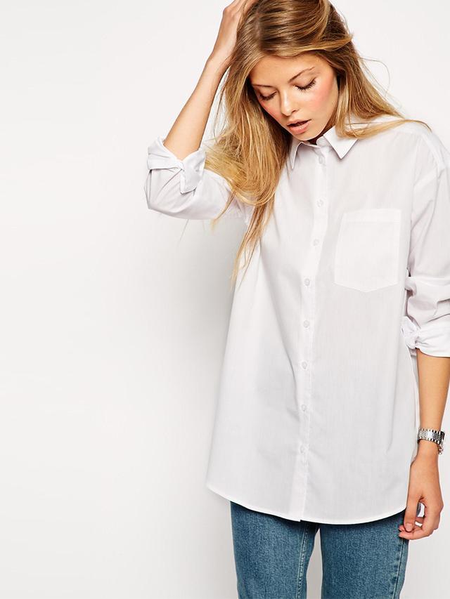 ASOS Boyfriend White Shirt