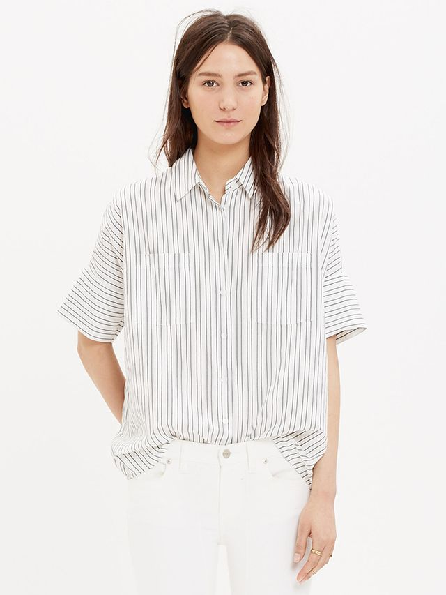 Madewell Courier Shirt in Stripe