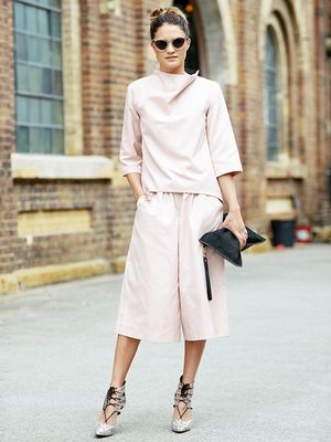 An Unexpectedly Elegant Look You Can Wear Right Now