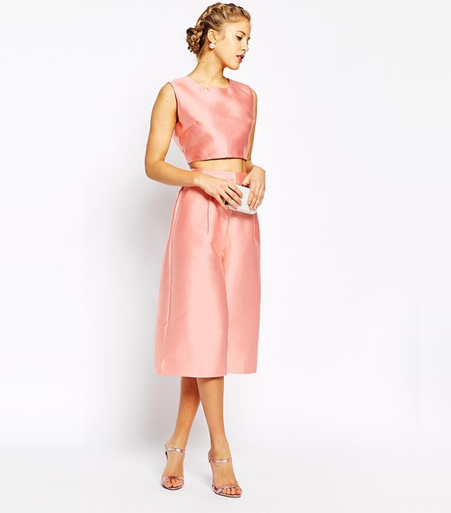 True Decadence Sateen Tailored Culottes