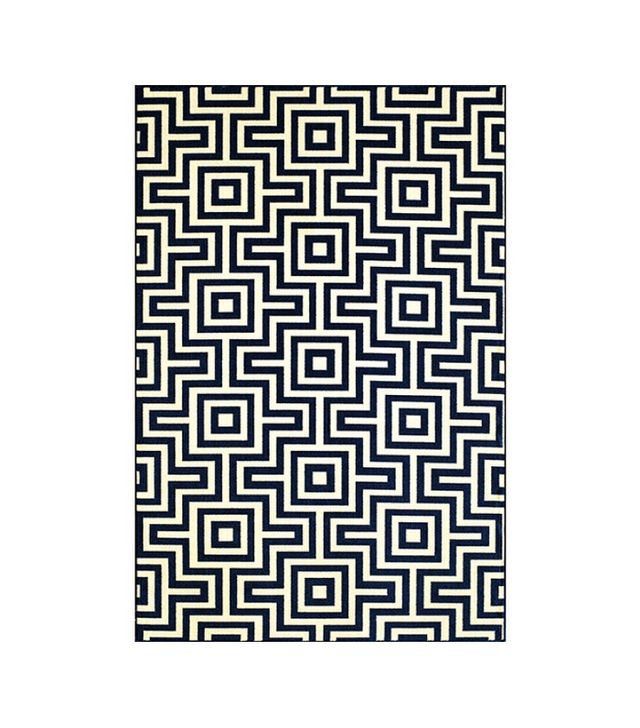 Lulu & Georgia Jonas Indoor/Outdoor Rug in Navy