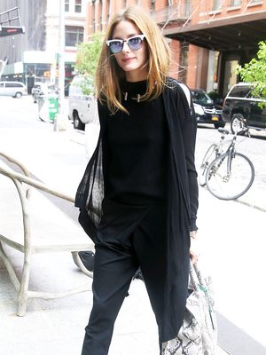 How Our Favourite Celebs Wear All Black in the Summer
