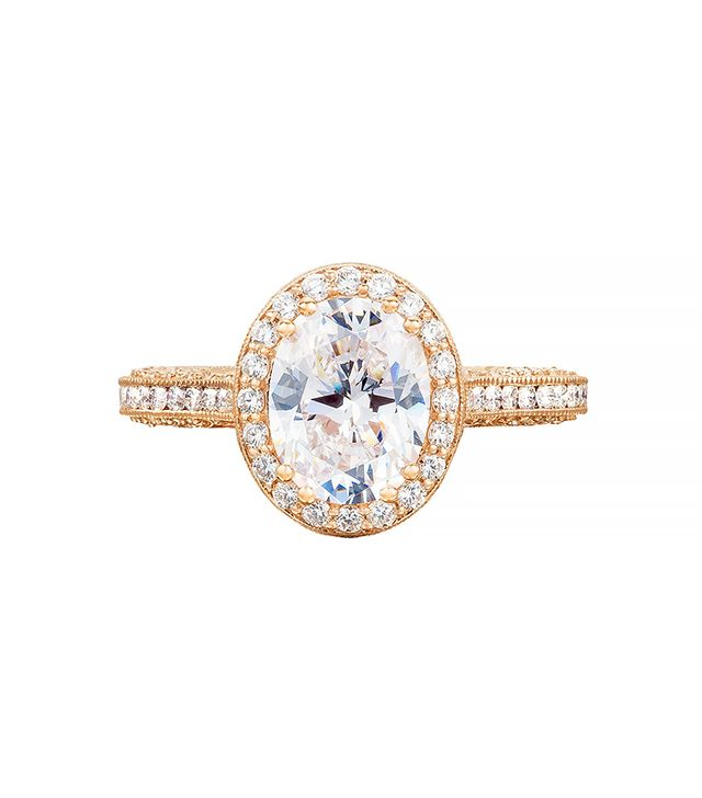 Tacori Pretty in Pink Engagement Ring