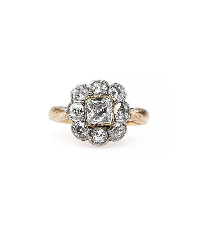 Trumpet & Horn Granada Vintage Engagement Ring