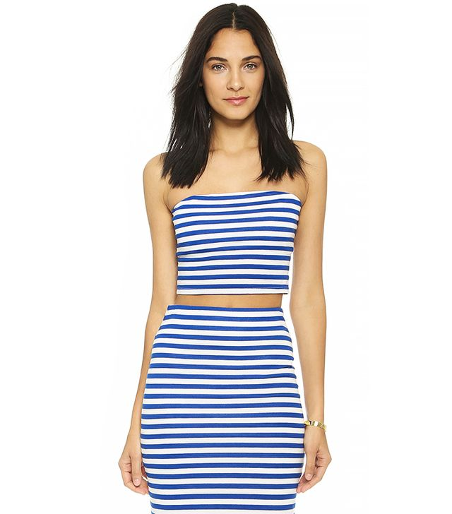 Milly Riviera Crop Top