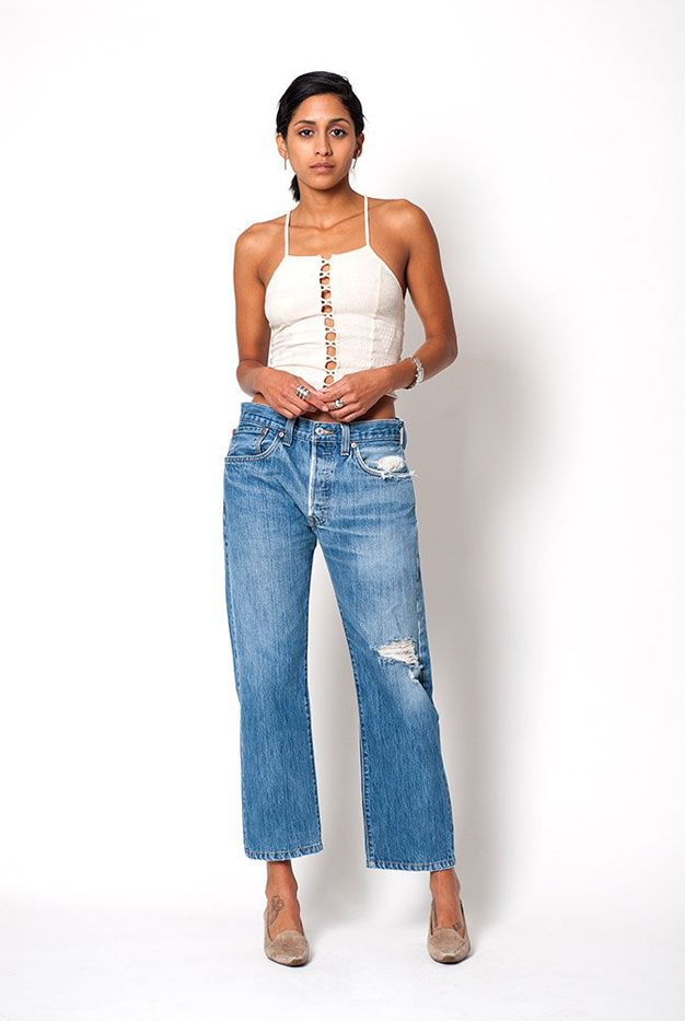 Denim Refinery The Double Distressed 501 Jeans