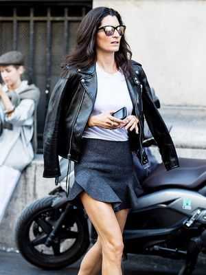 A Fashion Editor–Inspired Way to Wear Your Miniskirt
