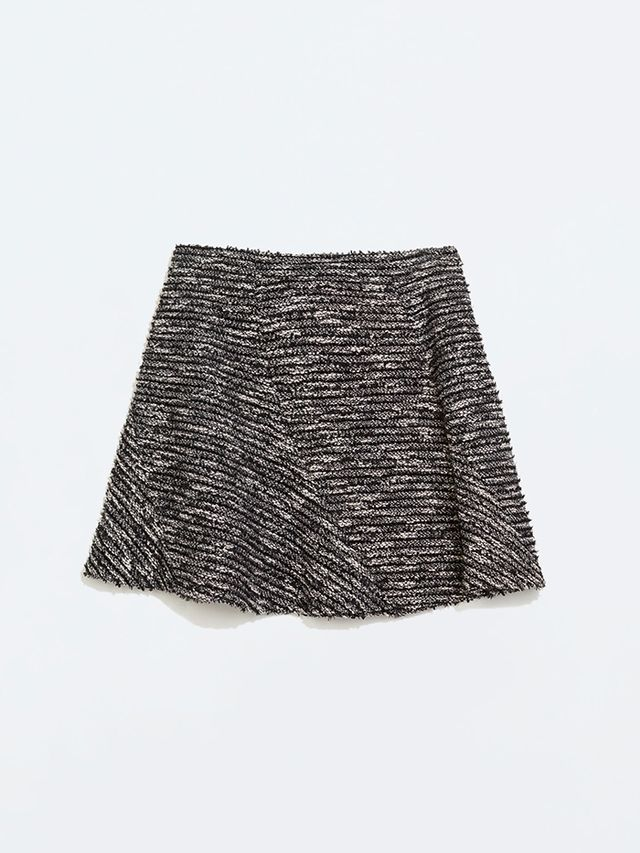 Zara Seamed Miniskirt