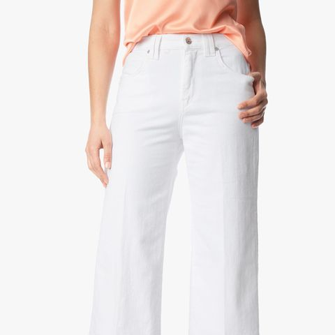 Culotte with Trouser Hem, Runway White