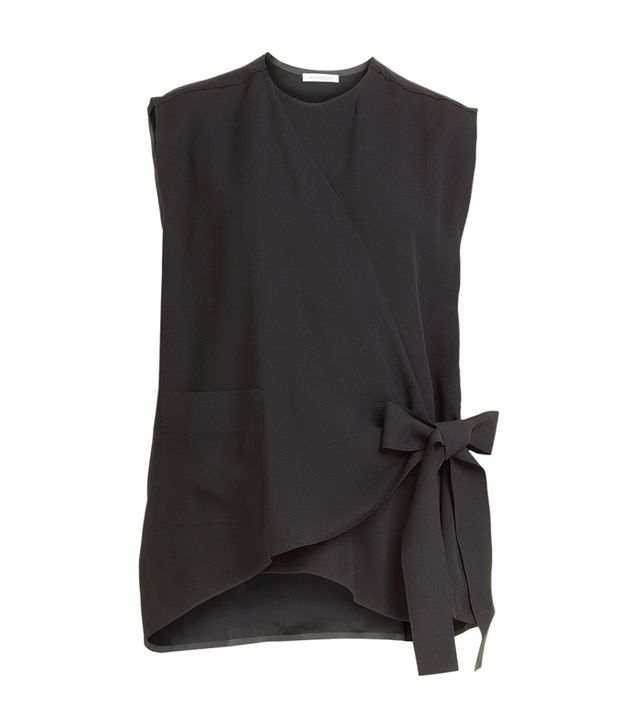 J.W.Anderson Crepe Top With Bow