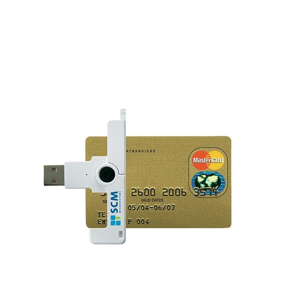 SCM SCR3500 Smart Card Reader