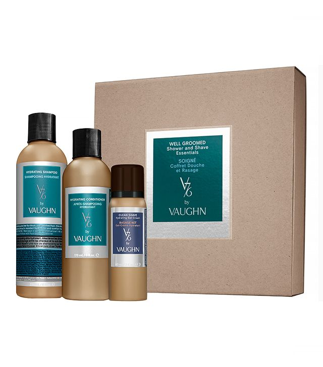 v76 by Vaughn Well Groomed Shower and Shave Essentials