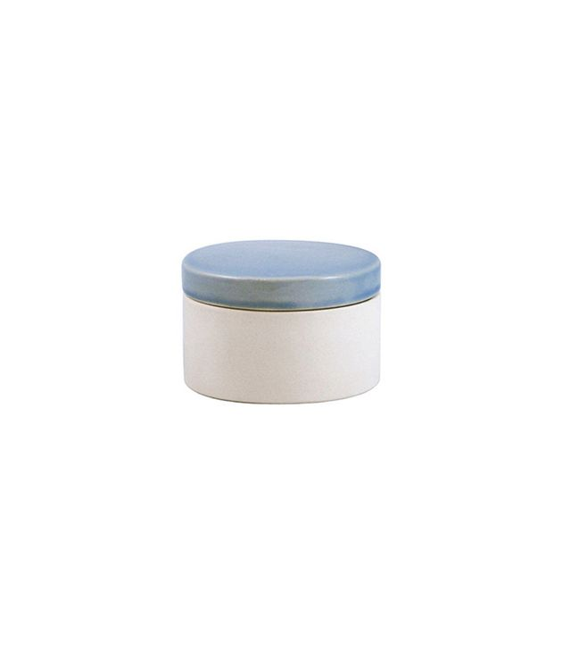 Canvas Shell Bisque Canisters