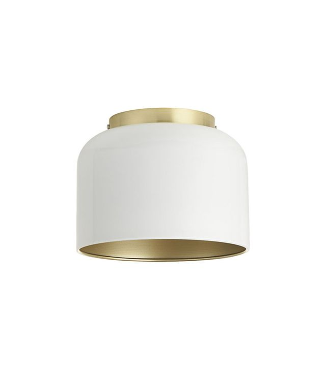 Studio 1a.m. Bell White Flush Mount Lamp