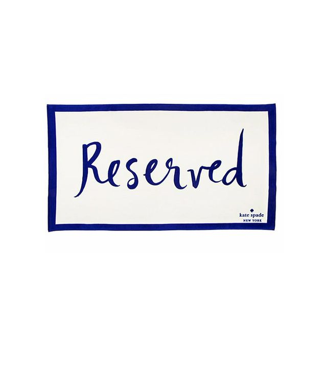 Kate Spade New York Reserved Beach Towel