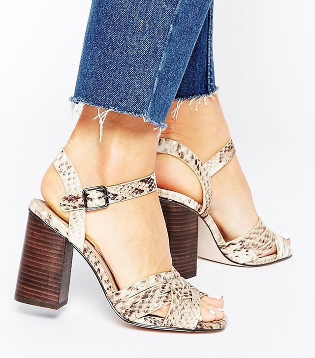 ASOS Hymn Heeled Sandals