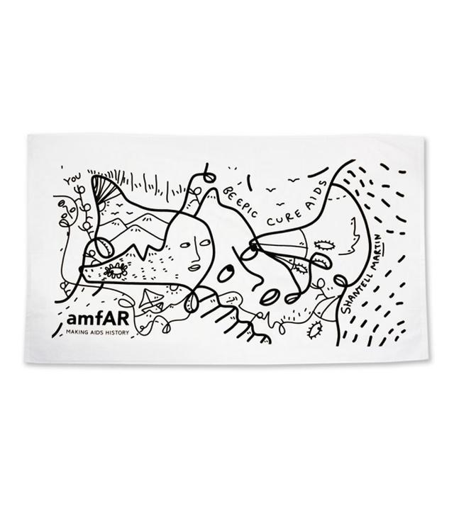 Shantell Martin amFAR Towel