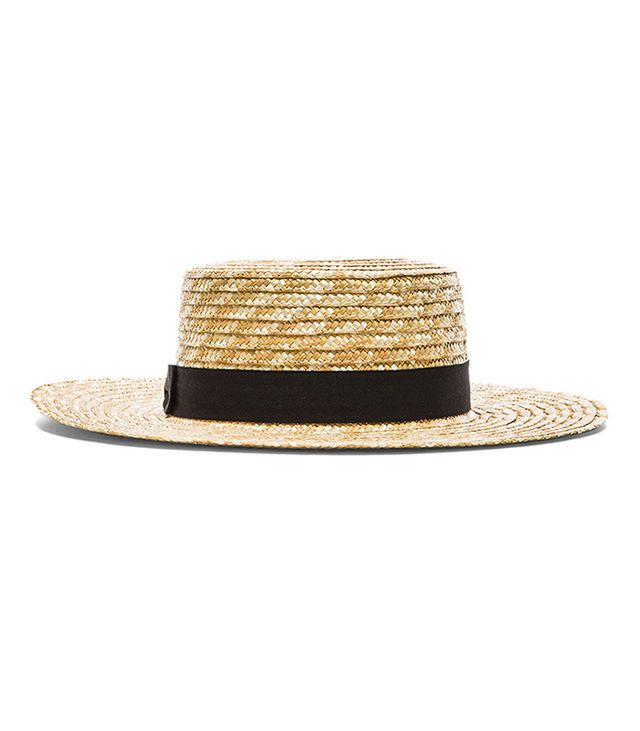 Lack of Colour The Spencer Boater Hat